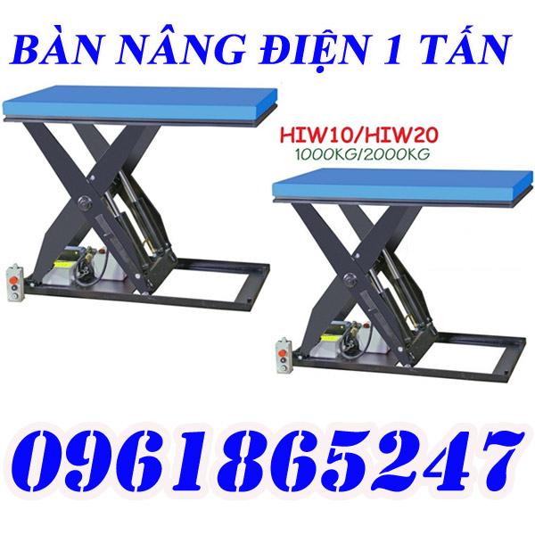 Bàn nâng điện Hiw nhập khẩu 100%