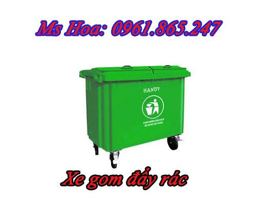 xe gom đẩy rác 2