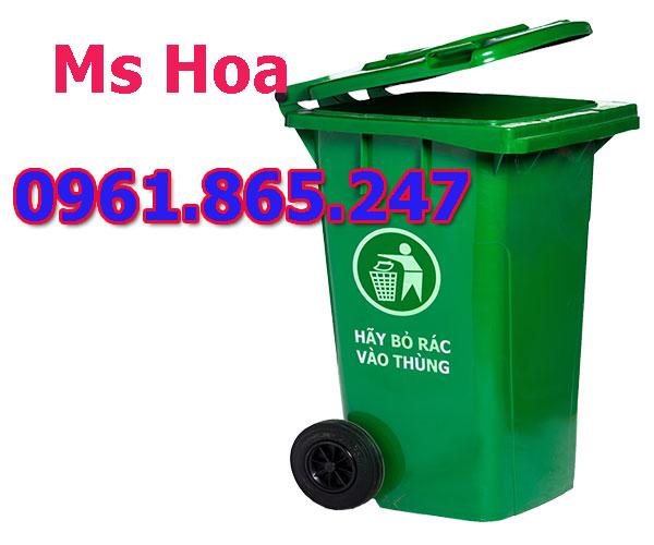 thùng rác dung tích 60l 100l 120l 240l ở hà nội