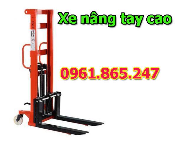 Xe nâng tay cao 1 tấn 1.5 tấn 2 tấn tại Thanh Oai, Hà Nội giá siêu rẻ
