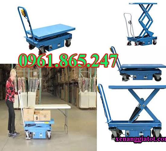 bàn nâng điện 350kg 500kg 750kg 1 tấn tại hcm