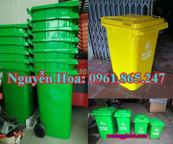 thùng rác 100l 120l 240l tại hóc môn