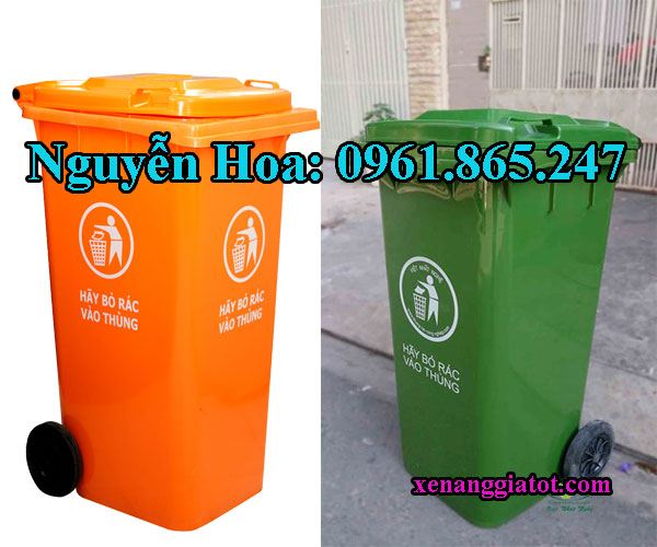 thùng rác 100l 120l 240l tại quận 8