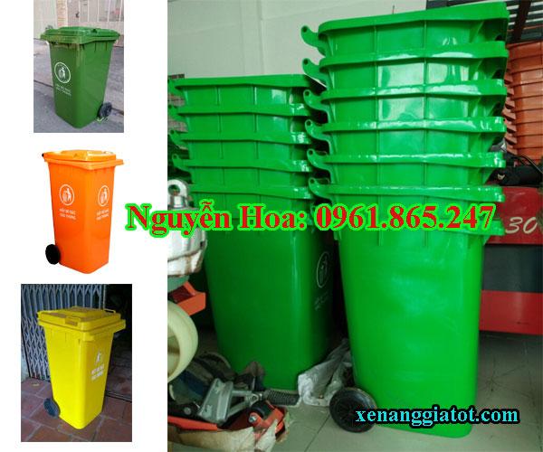 thùng rác 100l 120l 240l tại quận 9