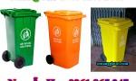 thùng rác 100l 120l 240l tại quận bình tân