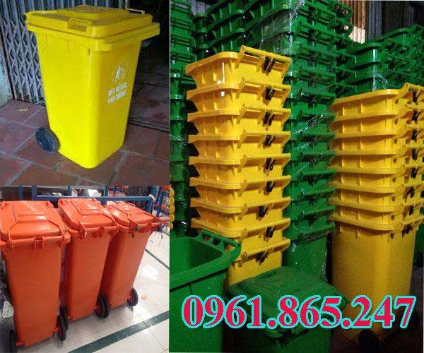 thùng rác 100l 120l 240l tại quận gò vấp