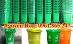 thùng rác 100l 120l 240l tại quận phú nhuận