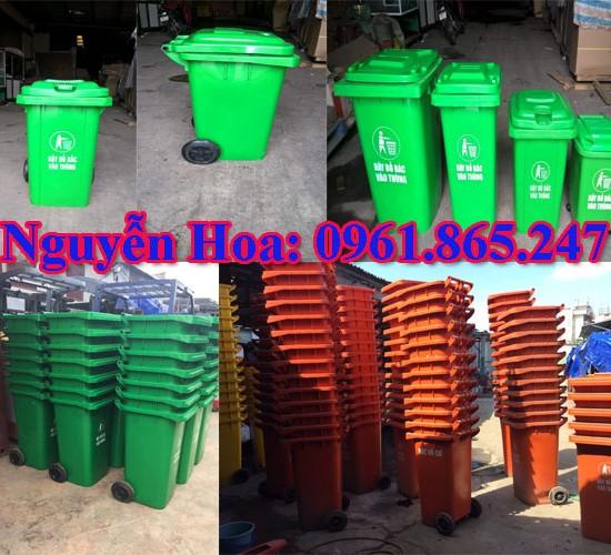 thùng rác 100l 120l 240l tại quận tân phú