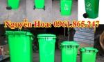 thùng rác 100l 120l 240l tại vĩnh phúc