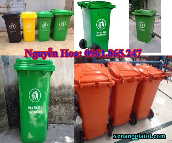thùng rác công cộng tại bình chánh
