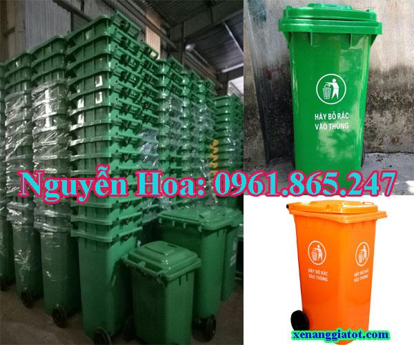 thùng rác công cộng tại quận 11