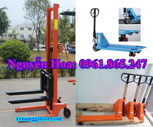 Xe nâng tay cao xe nâng pallet tại Bắc Ninh 1 tấn 1.5 tấn 2 tấn