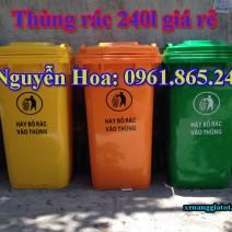 thùng rác công cộng tại thủ dầu một