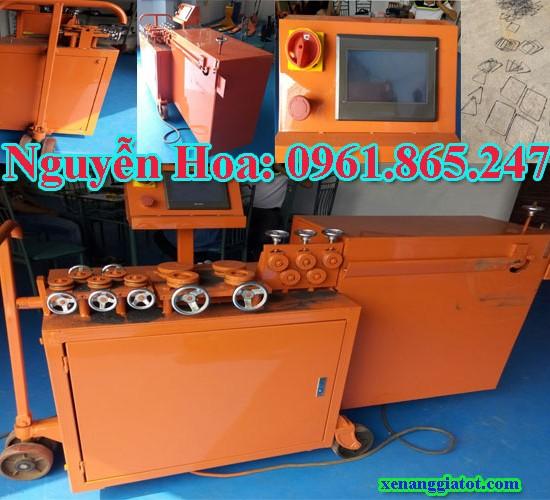 máy uốn bẻ đai sắt thép tự động