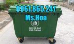 Xe gom rác tại Hồ Chí Minh