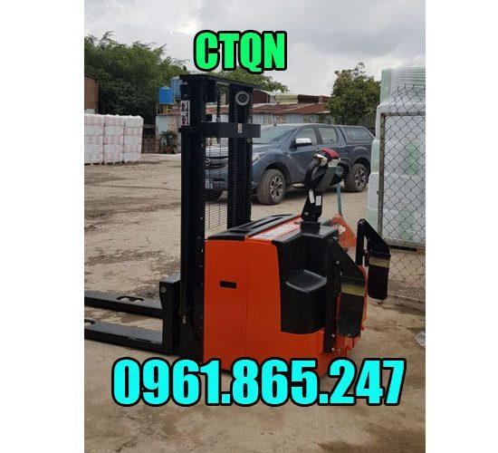Xe nâng điện đứng lái 1.5 tấn ctqn