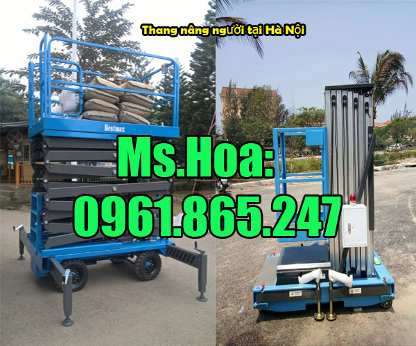 Địa chỉ bán thang nâng người tại Hà Nội
