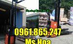 Xe nâng điện đứng lái tại Hà Nội
