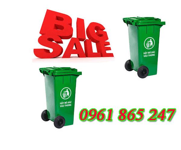 thùng rác 100l 120l 240l tại quận 1 giá rẻ