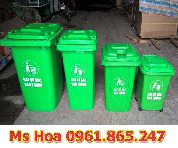 thùng rác 100l 120l 240l tại quận 1