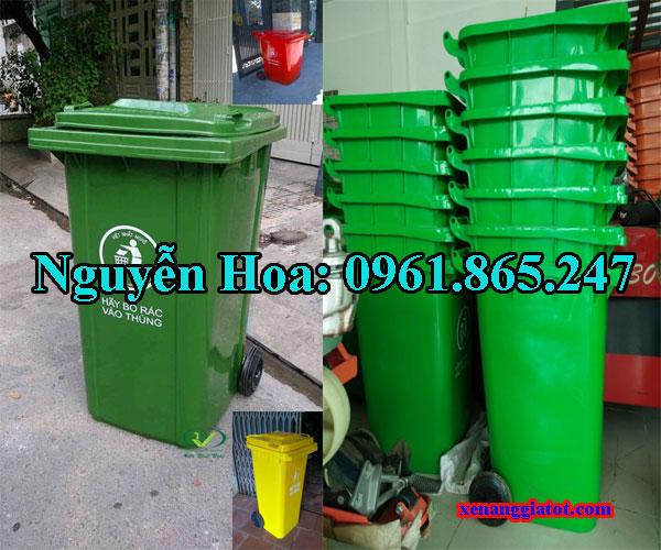thùng rác công cộng tại quận 12