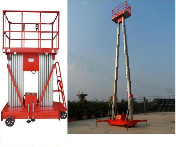 thang nâng đôi 12m tải trọng 200kg
