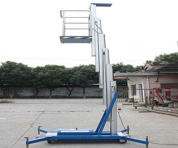 thang nâng người 130kg 8m 9m 10m 1 trục nâng