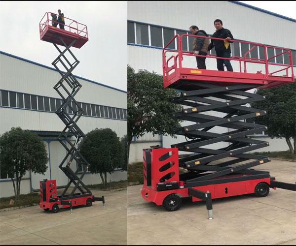 thang nâng người tự hành 6m 9m 11m 300kg 500kg