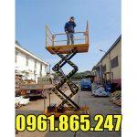 Bàn nâng điện 3 mét 500kg